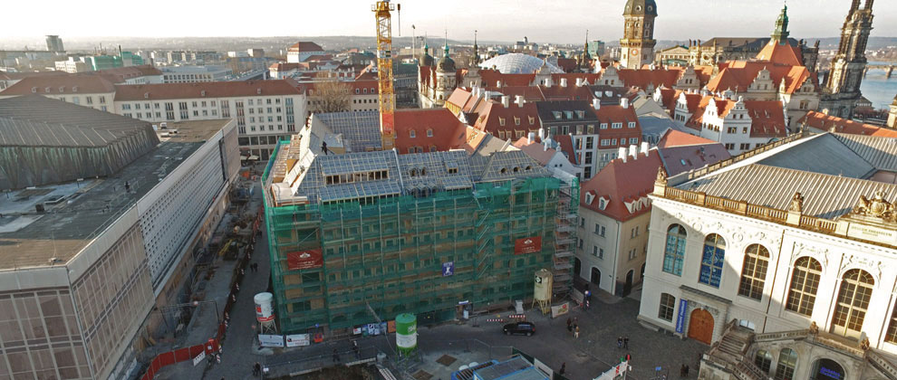 Innenstadtprojekt quartier vii 2 j denhof dresden for Hotelzimmer dresden